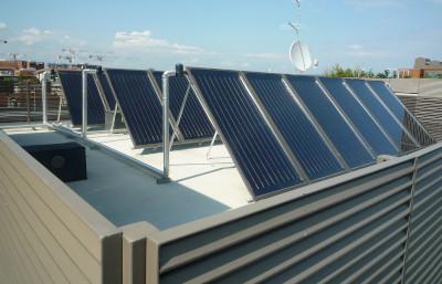 Impianto fotovoltaico centralizzato